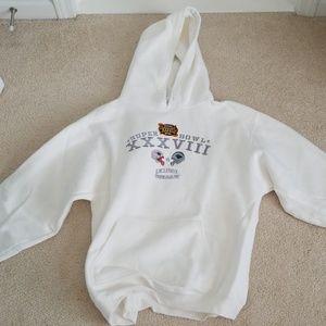 Limited edition Super Bowl 38 sweatshirt